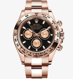 Replica Rolex Cosmograph Daytona Watch: 18 ct Everose gold - M116505 -0002