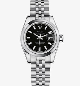 Replica Rolex Lady-Datejust Watch: 904L steel – M179160-0015