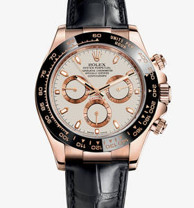 Replica Rolex Cosmograph Daytona Watch: 18 ct Everose gold – M116515LN-0003