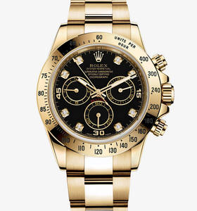 Replica Rolex Cosmograph Daytona Watch: 18 ct yellow gold – M116528-0031