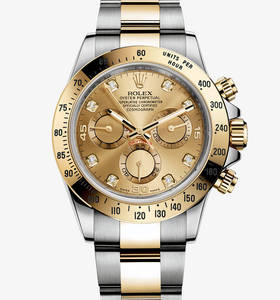 Replica Rolex Cosmograph Daytona Watch : Yellow Rolesor - yhdist