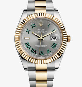 Replica Rolex Datejust II Watch: Yellow Rolesor - combination of 904L steel and 18 ct yellow gold – M116333-0001