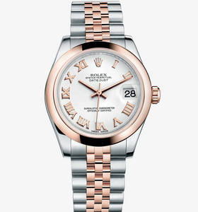 Replica Rolex Datejust Lady 31 Watch: Everose Rolesor - combination of 904L steel and 18 ct Everose gold – M178241-0062