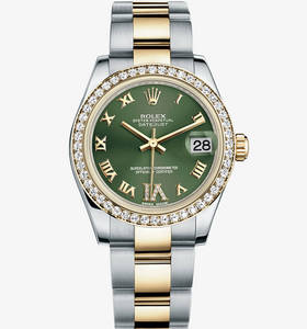 Replica Rolex Datejust Lady 31 Watch : Yellow Rolesor - yhdistel