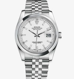 Rolex Datejust Watch: acier 904L - M116200 -0100