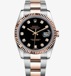 Replica Rolex Datejust Watch : everose Rolesor - Kombinasjonen av 904L stål og 18 ct everose gull - M116231 - 0071