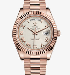 Rolex Day-Date II Watch: 18 ct or Everose - M218235 -0033
