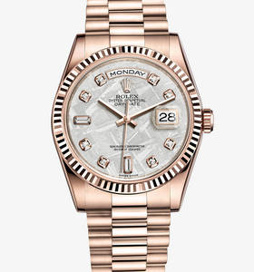 Replica Rolex Day -Date Watch : 18 ct Everose kultaa - M118235F