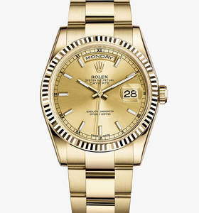 Replica Rolex Day-Date Watch : 18 karat guld - M118238 - 0110
