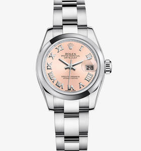 Replica Rolex Lady - Datejust Watch : 904L stål - M179160 - 0034