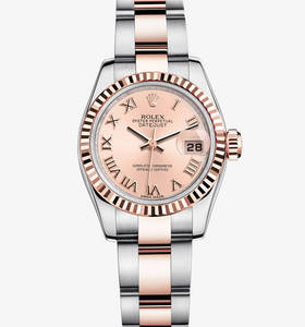 Replica Rolex Lady-Datejust Watch: Everose Rolesor - combination of 904L steel and 18 ct Everose gold – M179171-0068