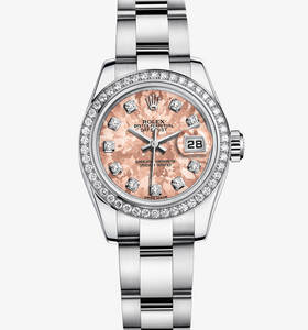 Replica Rolex Lady- Datejust Watch : Hvid Rolesor - kombination