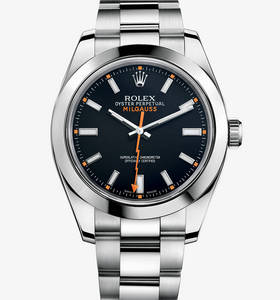 Replica Rolex Milgauss Watch: 904L steel – M116400-0001