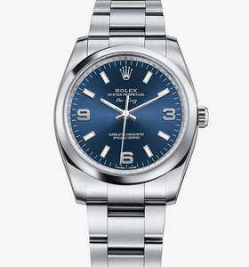 Replica Rolex Air -King Ur : 904L stål - M114200 -0001