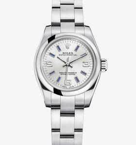 Replica Rolex Lady Oyster Perpetual Watch : 904L stål - M176200 - 0008