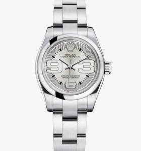Replica Rolex Lady Oyster Perpetual Watch : 904L stål - M176200 - 0012