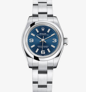 Replica Rolex Lady Oyster Perpetual Watch : 904L stål - M176200