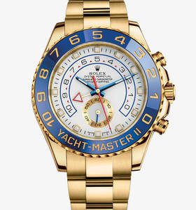 Replica Rolex Yacht-Master II Watch: 18 ct Gelbgold - M116688 -0001