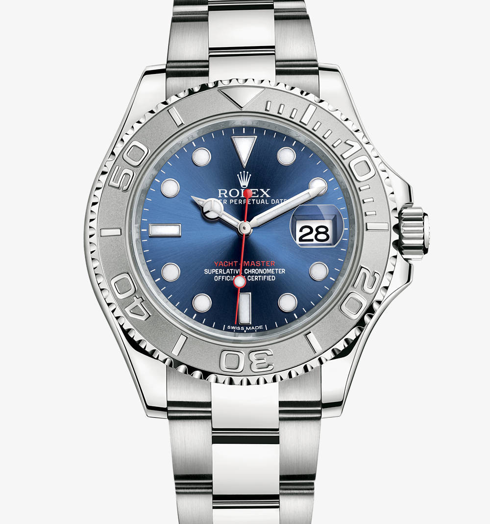 Replica Rolex Yacht-Master Watch: Rolesium - combination of 904L steel and platinum – M116622-0001