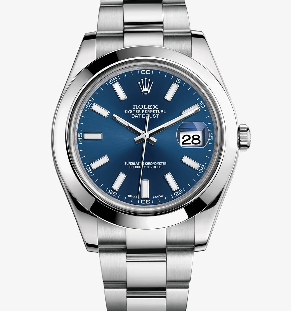 Replica Rolex Datejust II Watch: 904L steel – M116300-0005