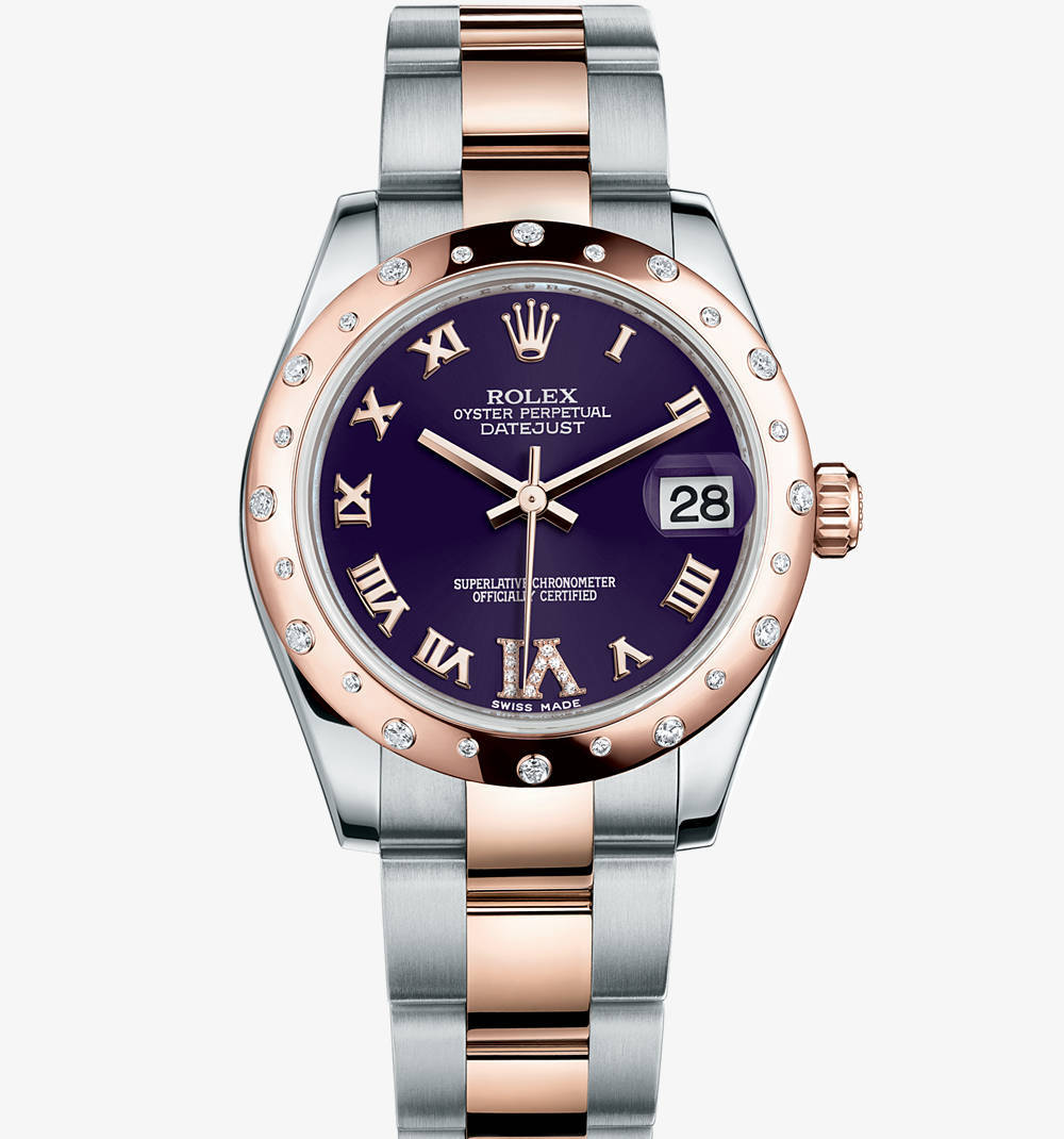Replica Rolex Datejust Lady 31 Watch: Everose Rolesor - combination of 904L steel and 18 ct Everose gold – M178341-0011