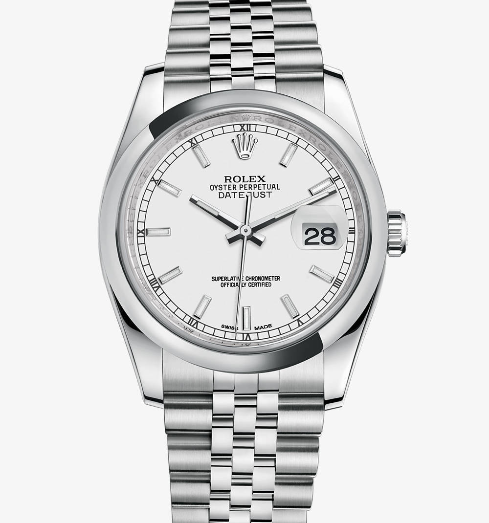 Replica Rolex Datejust Watch: 904L steel – M116200-0100