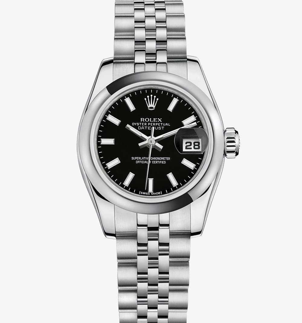 Replica Rolex Lady- Datejust Watch: aço 904L - M179160 -0015