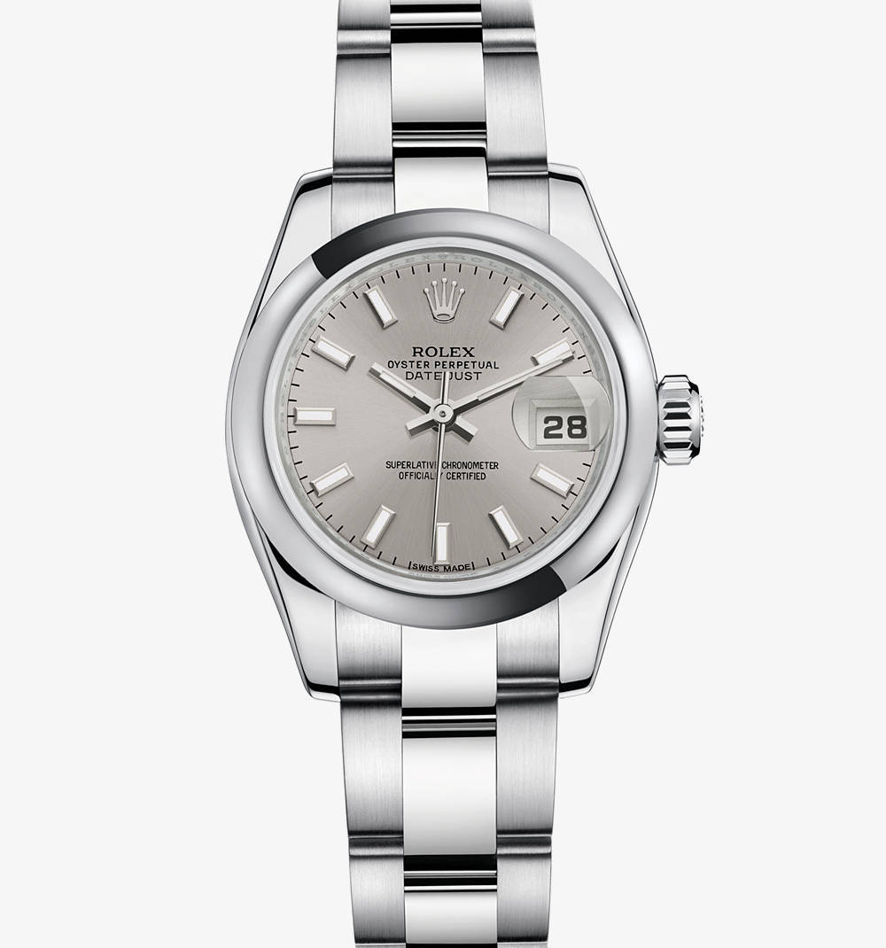 Rolex Lady-Datejust Watch: acier 904L - M179160 -0023