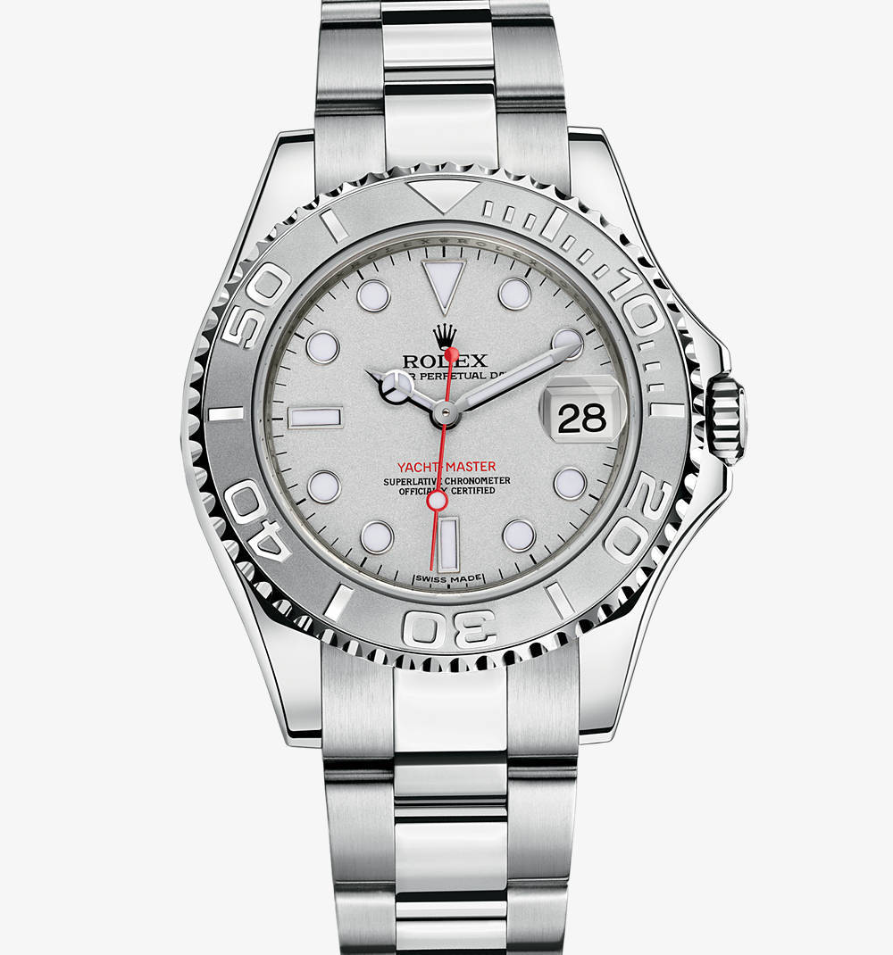 Replica Rolex Yacht-Master Watch: Rolesium - combination of 904L steel and platinum – M168622-0004