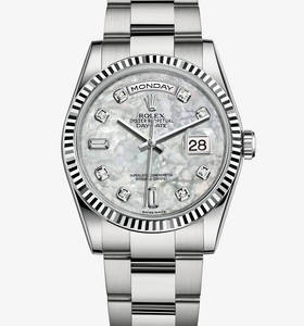 b91435eebce Replica Rolex Day - Date Watch  18 karaat witgoud - M118239 - 0115